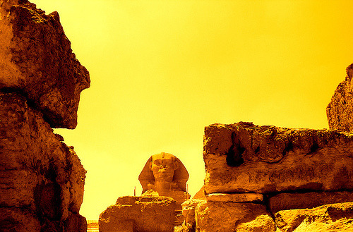 skotia:  Sphinx. Egypt.- (by ancama_99(toni))