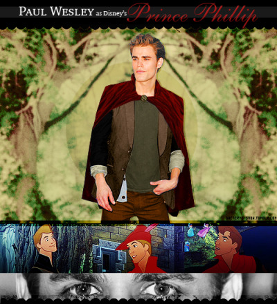 ★ Disney Live Action Dreamcast ★↳ Sleeping Beauty || Paul Wesley as Prince Phillip