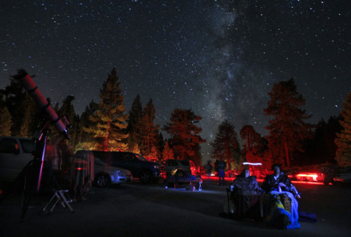 latimes:  Clear your evening plans: The 2011 Perseid meteor shower is best seen tonight. Photo: Mt. Pinos in California blocks out light pollution from below, offering a couple a view of the Perseids meteor showers in 2010. Credit: Don Bartletti / Los Angeles Times  Go outside. Look up.