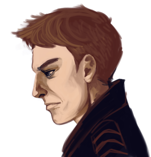 likeness practiceeee  inadvertently made him look like he's about to cry, fff.