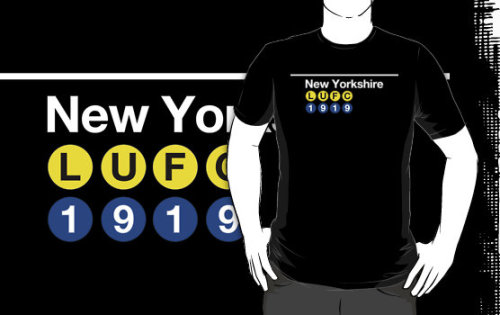 Buy the New Yorkshire t-shirt!