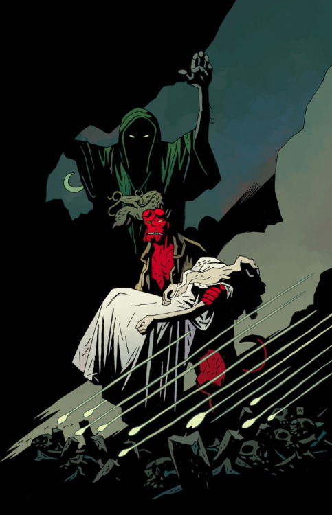 quasilucid:  inspiration: Bride of Hell by Mignola