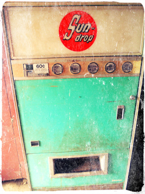 Mr. T's Soda Machine: Faithful Stables- Rocky Mount, NC.