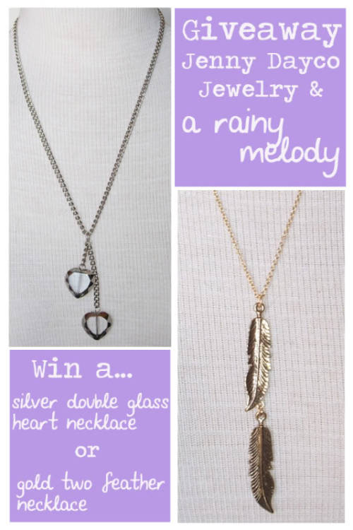 I'm so excited to have a contest giveaway on my blog!  I'm collaborating with Jenny Dayco Jewelery and giving away two gorgeous necklaces.   ENTER HERE!