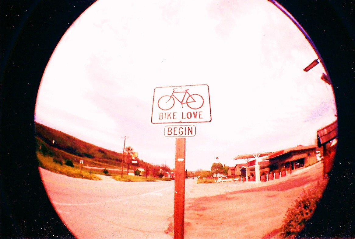 bike LOVE begin — (picture by Cassie Aroyan)