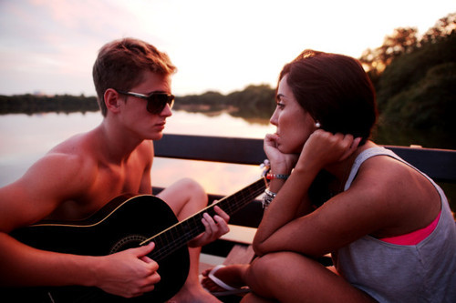 The only thing I miss about you is your guitar…