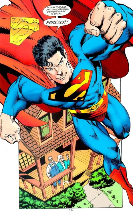 "eternauta1982:  Superman is back!!!   ""…Forever! Or until 2011! Whatever!"""