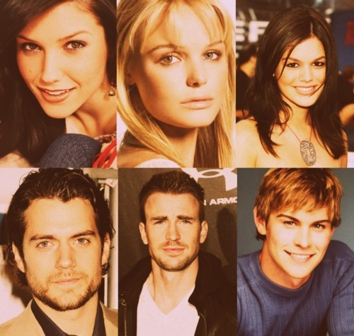 ... Kate Bosworth and Christ Evans, Rachel Bilson and Chace Crawford