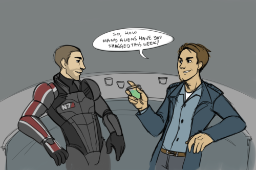Shepard's probably next if he's not careful.