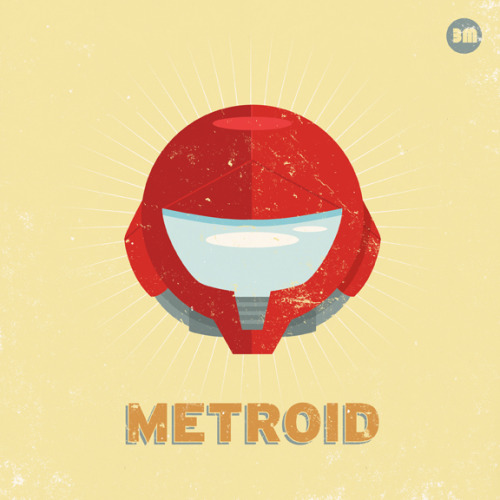 it8bit:   3 Ms of Nintendo: Metroid, Mario and Mega Man - by Adam Limbert Website || deviantART || Twitter