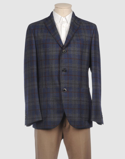 Grail Boglioli blazer — If this was in my size, then I'd have a REALLY hard time not buying this outright. I love the colors and the Prince of Wales check.