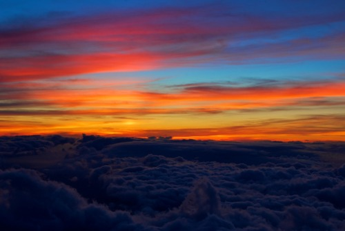A few days behind (again), here's a bunch of colors from the top of Haleakala.