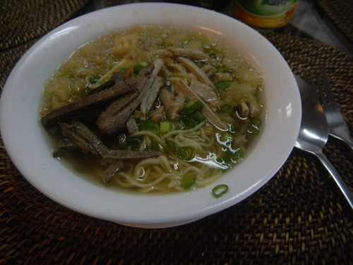 """Iloilo's Batchoy. perfect for rainy days"" - my brother"