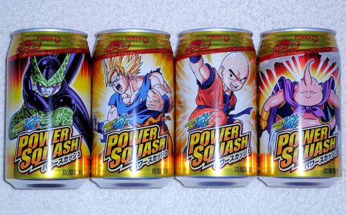 labff:  Japanese Canned Soft Drink / Dragon Ball かめはめ波!!!   かめはめ波