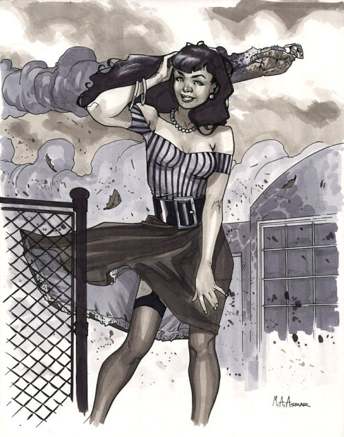 Betty Page - Pre-show Commission, C2E2 2010
