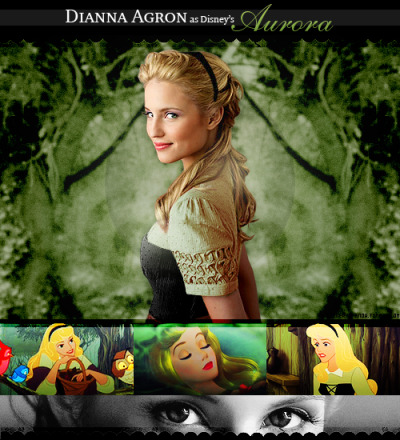 ★ Disney Live Action Dreamcast ★↳ Sleeping Beauty || Dianna Agron as Aurora