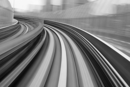 Long Exposure Photos of Yurikamome High Speed Rail Transit Photographer Appuru Pai based in Tokyo who for the last few years has been capturing these   fantastic long exposure photos of the Yurikamome transit line that   travels between the Japanese cities of Shimbashi and Toyosu.