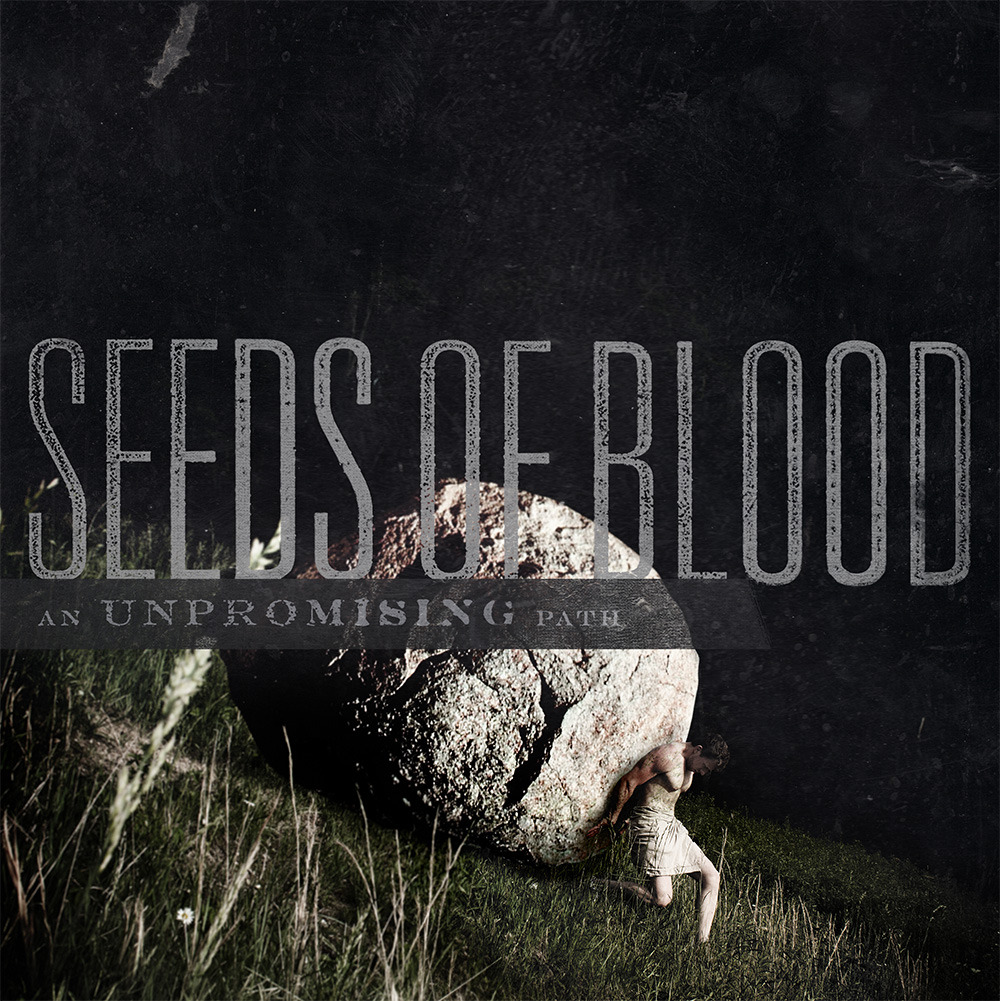 Approved cover art for Seeds of Blood's An Unpromising Path. Heaviest band to come out of Austria in a long time. Big ups to my buddy Andy for pushing that huge ass rock!