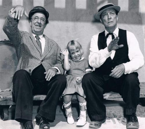 Ed Wynn and Buster Keaton