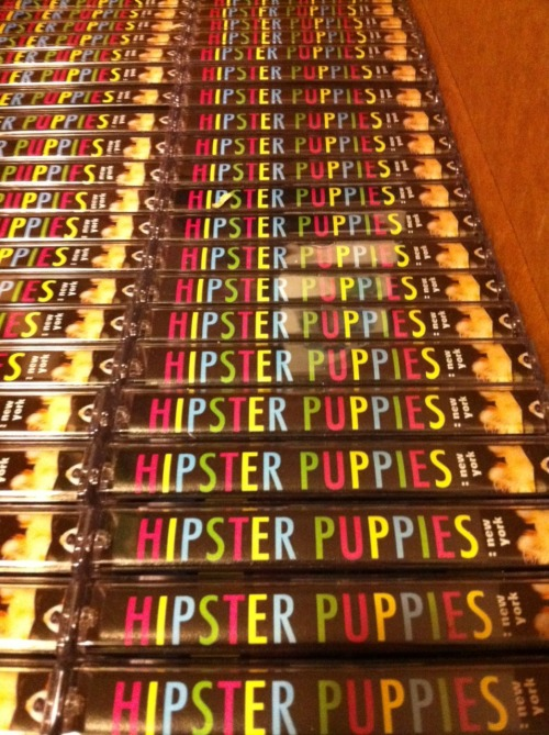 HIPSTER PUPPIES: NEW YORK // the cassette // ed. 350 side ashooting spires – righthunters – deadbeatpregnant – help!nt – transparencydas racist ft. despot – rooftopaa – glow wreathpterodactyl – school gluedinowalrus – phone home from the edgeyvette – with fangsava luna – clipschild abuse – cut and runside bnonhorse – i love you bubblesdan friel – desert songmountains – thousand squareburning star core – mezzo fortehubble – hubble otherweingarten/bieber duo – chernobyl igloo [excerpt]liturgy – high goldzs – acres of skinbeauclerk – bisonoric WHAT IS THIS? the hipster puppies cassette is a present for the pups and peeps whose photos ended up in the hipster puppies book. it also works as a love letter to my city, as it features a meticulously curated selection of 20 of my favorite new york bands. after the contributors and artists get copies, i should have about 175 copies left over.  HOW MUCH ARE THEY? the tapes are not for sale, and are strictly value-adds when you buy a copy of the hipster puppies book at select outlets WELL, WHERE CAN I GET ONE? i will have ample copies at the hipster puppies pageant at powerhouse books on august 25 and the sound fix records in-store on august 27. please bring your dog to both events!  if you can't make it out to those, you can currently score copies with your hipster puppies purchase at at sound fix in brooklyn and cake shop in manhattan. WHY CASSETTES? because i'm exasperating brooklyn hipster slime and everything has to be extra difficult for us or it's not worth anything, duh.