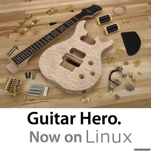 Guitar Hero Now on Linux XD