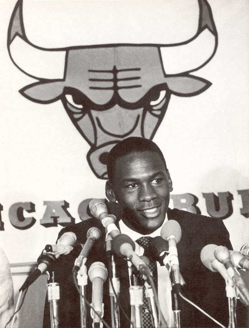 The Chicago Bulls sign the 3rd pick of the 1984 NBA Draft. Got 'Em