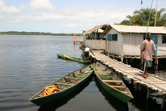 Places in GhanaNzulezu, town on stilts, in the Western Region. This is our more natural and organic version of Venice