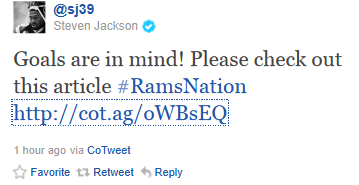 Could Steven Jackson Break the St. Louis Rams' Career Rushing TD Record in 2011?
