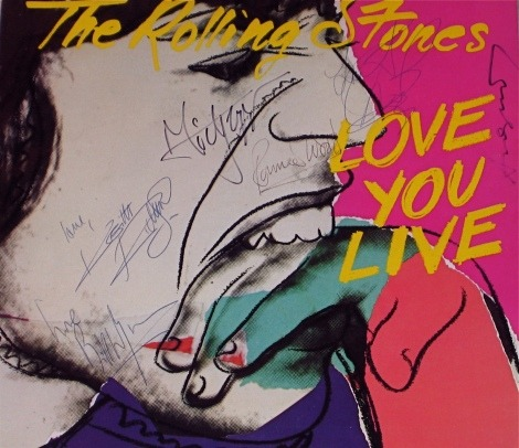 Love You Live, Rolling Stones, Andy Warhol