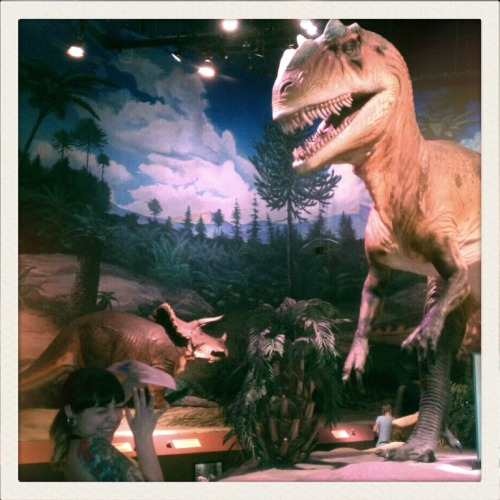 "sirrollsablunt:  Oh no girlfriends gonna get nomed on!  T-Rex was all like ""Bitch you lookin' fine! I'm gonna eat you up!"""