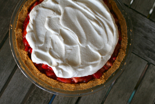 celebratewithcake:  Strawberry Icebox Pie by kristin :: thekitchensink on Flickr.