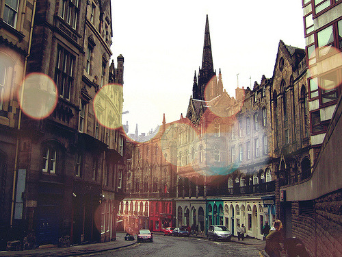 Victoria Street, Edinburgh, Scotland, UK©  ღMayuღ
