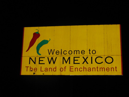 New Mexico reminds me of Old Mexico, weird, lol