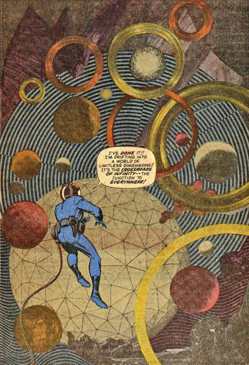 no-patience:  Jack Kirby - Fantastic Four