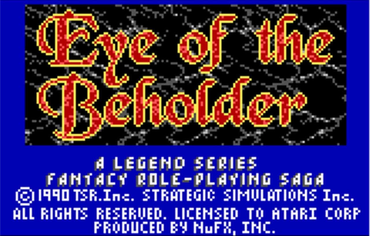 fuckyeahhighfantasy:  Eye of the Beholder 1990  FUCK YES THIS GAME :D