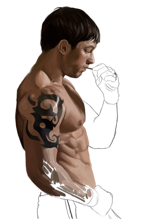 Tom Hardy WIP I'm working on.