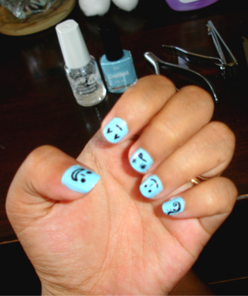 Blue Smileys :D