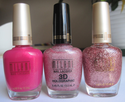 Finally found somewhere that sells Milani polish in Toronto…but only the basic colours, had to cop the holo from beautyjoint.com
