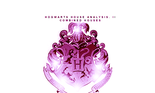 "tricksterofthelight:  Hogwarts House Psychoanalysis Pt.II : Combined Houses  Gryffinclaw Gryffinclaws have the mental capacity to be a hero, in a sense. They are smart, daring and ready to take on whatever they can. Unfortunately, their emotions tend to take hold over their logic, and this can cause them to be easily disheartened. They want to believe that essentially, everyone is good, but their fairly cynical Ravenclaw side will often try to deny this, and with this plus their emotional front, they can hit a disastrous point of anger toward society and themselves. Gryffinclaws are dedicated, and while they have the ability to do so much more, they tend to focus themselves on one thing, deeming everything else as unimportant. They will do what needs to be done, but that does not mean they will like it. Gryffinclaws tend to enjoy conflict, if it is intellectual. They will debate day and night if you allow them to. Politicians, surgeons and philosophers are often Gryffinclaws. Slytherdor Slytherdors are always in a constant battle with themselves, a bit like an angel and a devil on each shoulder. They truly want to do what is proper for everyone around them, but at the same time they can be selfish and it will blind their view of what the people they love may need. Slytherdors believe that people have the capacity to be good, they just simply don't care, instead taking and conquering what they can, and they are just fine with that, because they often blend into it themselves. The angel on their shoulder is begging that they try to make change in the world, but the devil is always egging them on to go for what they crave. This doesn't mean they are wrong in their ways, in fact they are very quick-witted and ready to get things done. Slytherdors are extreme multitaskers and procrastinators, trying to accomplish several things at once and instead forgetting to do all of them. This can be seen as irresponsible to some, but Slytherdors tend to simply shrug it off. However, they do have a very short fuse, so watch what you say or they may go off. Many doctors, company executives and celebrities are Slytherdors. Gryffinpuff Gryffinpuffs could almost be said to have hearts of gold, as they see the good in each and every individual. They are very emotional people to the point that they at times do not even know what to do with themselves, instead just feeling the need to cry or scream. This is because their Gryffindor side wants to let out their emotion, but the Hufflepuff in them is too scared of what others would think. Gryffinpuffs are very happy-go-lucky and optimistic, ready to lend a helping hand wherever they may be needed. They are social butterflies, making friends easily. While they love to talk for hours, any negative comments they tend to take to heart, and their Hufflepuff side tends to stop them from speaking up about it, so instead they will wallow in self pity for possibly days. Gryffinpuffs are somewhat spacey and tend to be visual and auditory learners, meaning it may take them a bit before they fully understand something. This does not mean they are in anyway less smart, they are just patient enough to take their time to understand something completely. Many social workers, wedding and party planners and those who work with small children are Gryffinpuffs. Ravenpuff Ravenpuffs are constantly contradicting themselves, thinking they have done something completely right and then deciding it is absolutely awful the next minute. They do this with people as well, thinking that everyone is as they seem until their Ravenclaw side speaks up, and they begin to second guess every movement a person makes. Ravenpuffs tend to be quite shy, and if they talk to you they will be friendly; but make no mistake, they are analyzing every single move you make. Ravenpuffs are very academic and later on in life what one would call ""work-a-holics"" devoting themselves into whatever passion they may have. Ravenpuffs tend to be very creative, observing others and using it in their work. Ravenpuffs shudder at the idea of conflict, avoiding it anyway necessary, usually keeping to themselves to make sure it stays this way. Novelists, musicians and psychiatrists are often Ravenpuffs. Slytherclaw Slytherclaws are quick-witted to the point they are dangerous, always thinking and seeing every detail around them. Their cleverness and intelligence is a venomous combination, and they are very good in the art of persuasion and manipulation, and they make sure they always get what they want. That said, that doesn't mean they are bad people, simply a bit spoiled in their nature and ready to get at any aspect of life they are thirsty for. Conflict is something that is beyond them and they tend to quickly shake off whoever may try to argue with them. If you insist, they can tear you to shreds so quickly you will not even know what happened. Slytherclaws are incredibly intelligent and use that in every aspect of their lives, never stopping to smell the roses. They are constantly driven, so make sure you don't get in their way, they don't care much for attachments. If they do care for you however, they will show this with the most protectiveness. Con artists, attorneys and those who work with the government are often Slytherclaws. Slytherpuff Slytherpuffs are an odd mix, and they are incredibly indecisive. They are ambitious and driven, but their shy Hufflepuff aspects can sometimes pull them away from what they want. They feel as though they dislike everyone, though they aren't entirely sure why they do, and at times they can feel that they are an awful person because of this. Slytherpuffs are often angry at themselves for what they do or don't say, and they are always biting their tongue. They are often quiet, but when they do speak up they say something that is worth your time. They avoid conflict the best they can, but if you insist upon it they will give you one hell of a debate. They are very dedicated to getting what they want, and if they will often stay away from people days at a time researching. They are not fans of social interaction. Painters, journalists and poets are often Slytherpuffs. Please not this is simply my opinion and it is obviously not applicable to everyone in combined houses, just my assumptions. Please do not be offended by anything, it is not meant to be taken that way. Psychoanalysis of the singular houses are here. (x)"