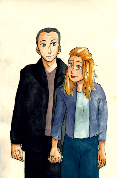 maybellepastry:    OTP Drawing Challenge (Not Neccessarily in Order)- #4Doctor/Rose