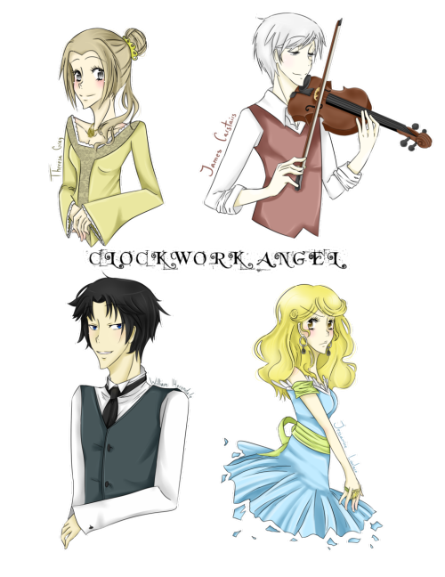 theherondaleboys:  The Infernal Devices by *Iondra
