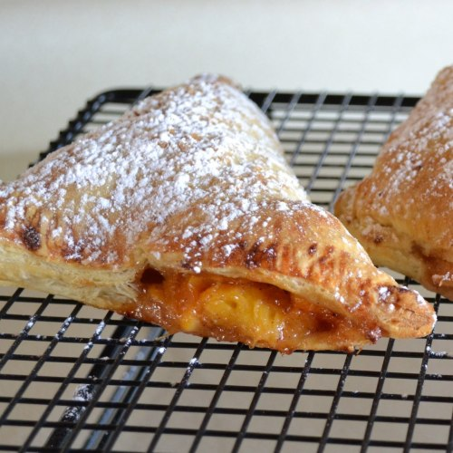 Spiced Peach and Bourbon Turnovers