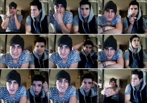 Kendall an Logan on Ustream :D