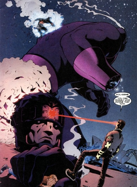 wolverineholic:  taken from New X-Men #114
