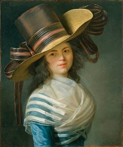 oldrags:  Portrait of a Lady by Jean-Laurent Mosnier, ca 1790