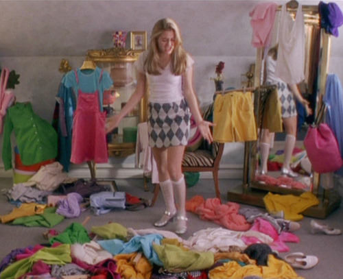 "sassprincess:  ""i have nothing to wear"""