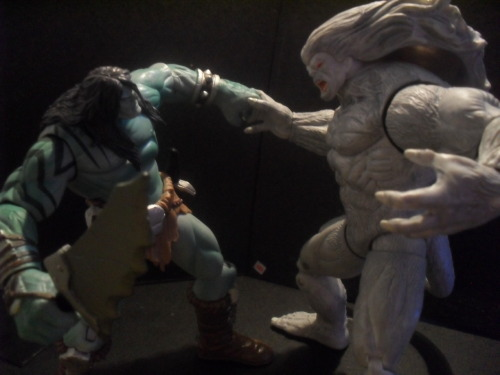fuckyeahhulks:  projektchaos:  Monster Brawl  Hey guys, the action figure pics I reblog always get a lot of love, and around 80% of them come from this awesome blog.. Projektchaos. So be sure to follow :)  Thank you man! :D I'll be posting more Hulk figs.