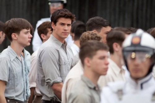 hundredpercentsd:  Lionsgate just released a new image of Liam Hemsworth in the upcoming movie The Hunger Games. With more and more images coming out, it's making me excited to see the movie.The Hunger Games opens on March 23, 2012. -Andrea