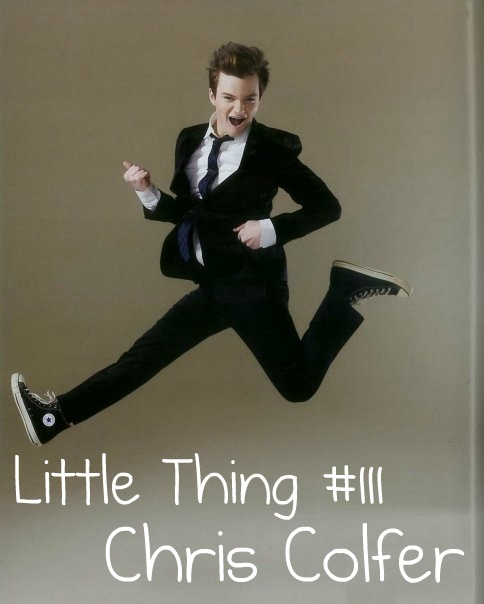 thelittlethingsthatmaketheworld:  Little Thing #111: Chris Colfer