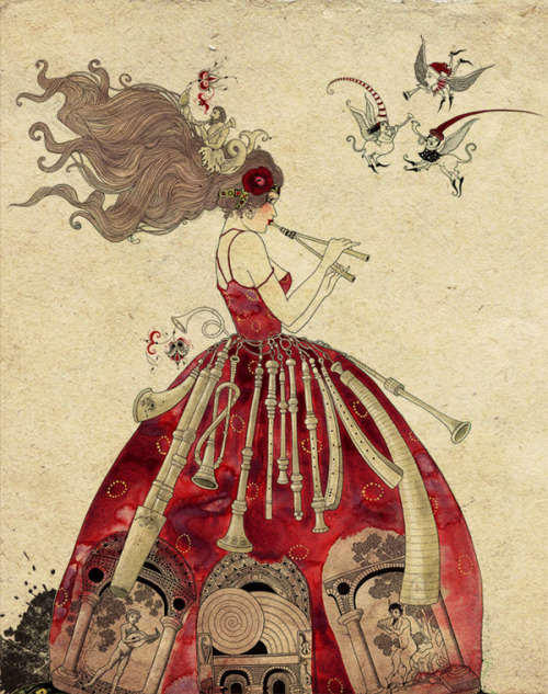 marysoul:  Beautiful Book Illustrations by Sveta Dorosheva
